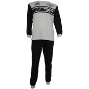 Fun2wear jongens pyjama 'Motorcross' grijs melee